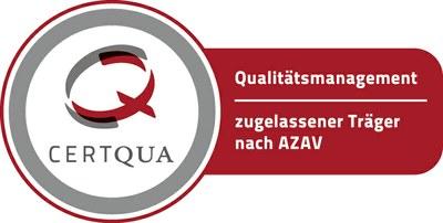 Zugelassener Träger nach AZAV - Zertifiziert nach DIN ISO
